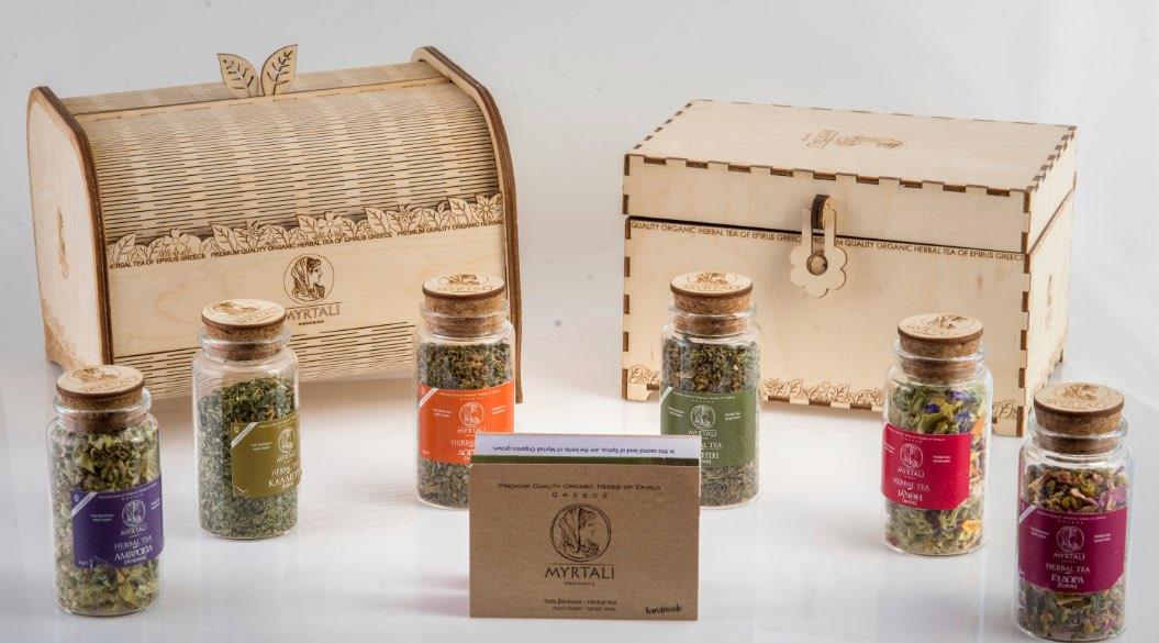 Myrtali Organics - Προτάσεις Δώρων Συσκευασία