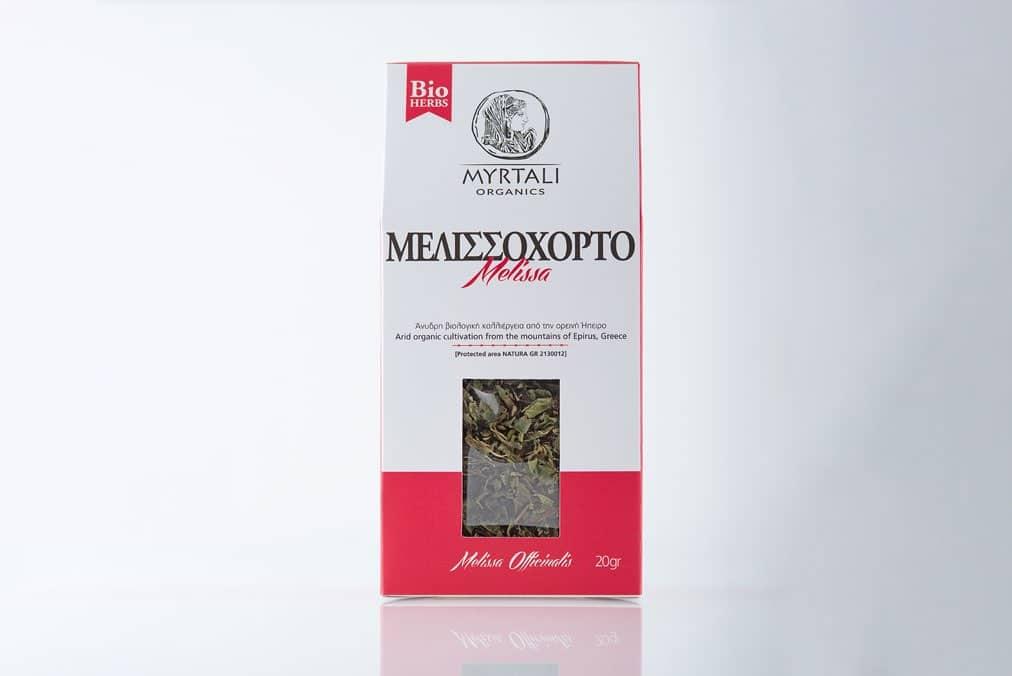 Myrtali Organics - Μελισσόχορτο