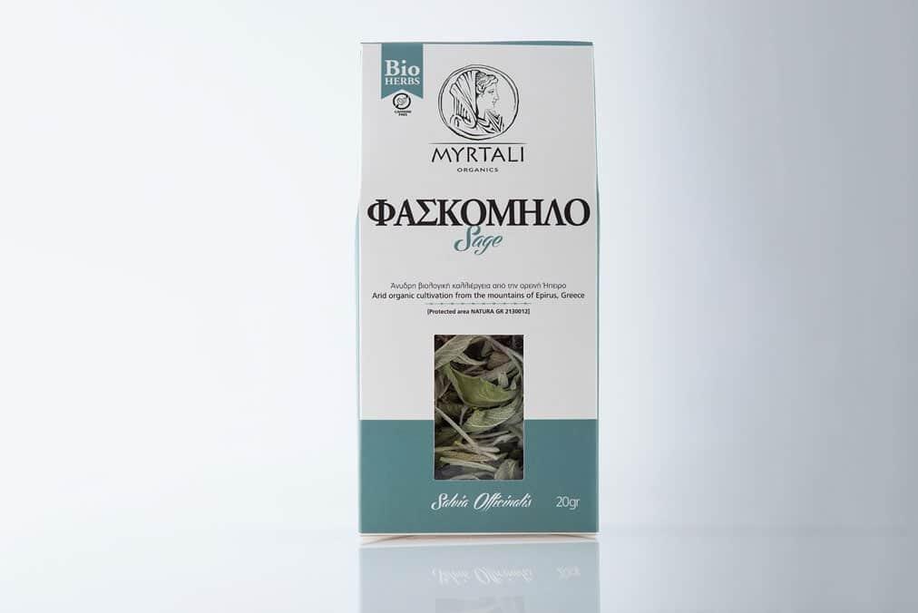 Myrtali Organics - Φασκόμηλο